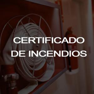 Empresa certificadora contra incendios